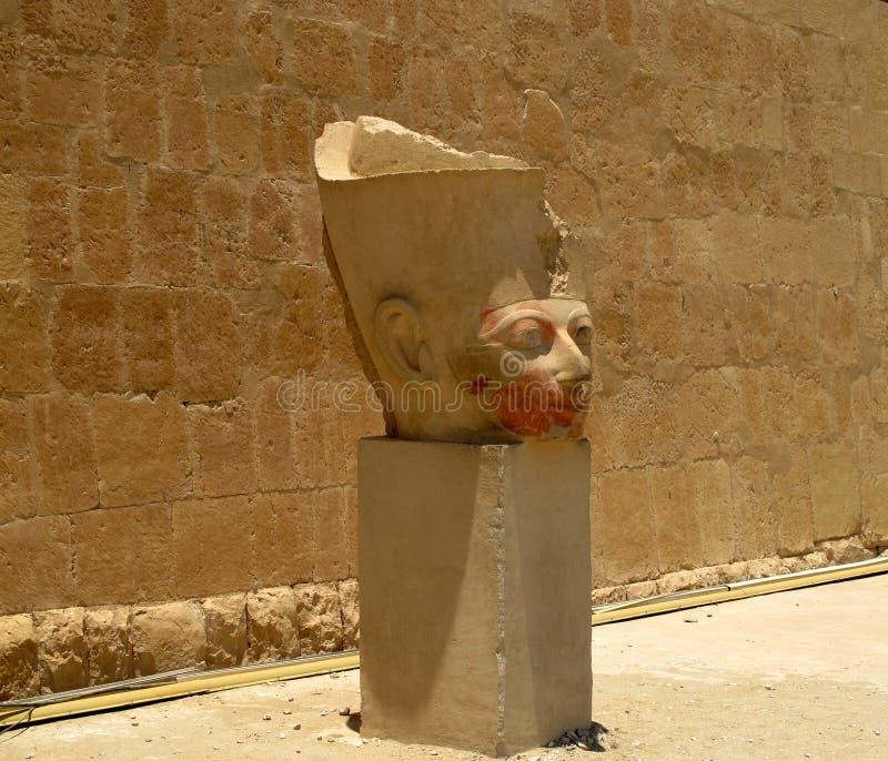 Templo da rainha Hatshepsup Monumentos históricos da antiguidade fotos de stock royalty free