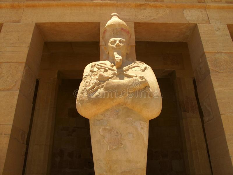 Templo da rainha Hatshepsup Monumentos históricos da antiguidade foto de stock royalty free
