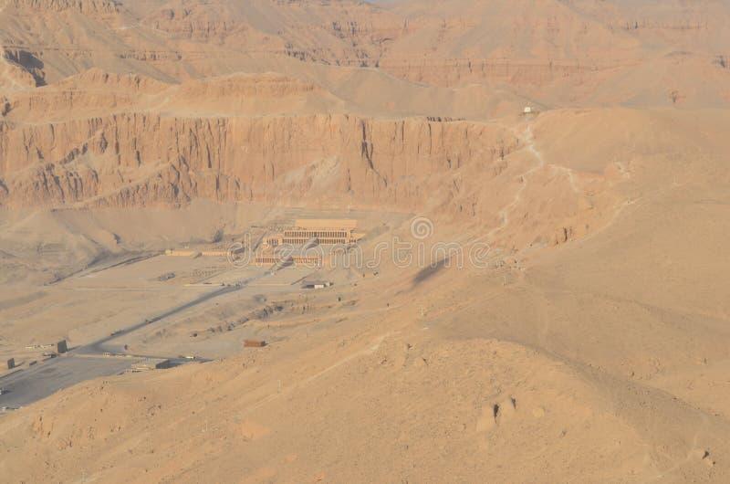 Templo da rainha Hatshepsut, Egito antigo imagem de stock