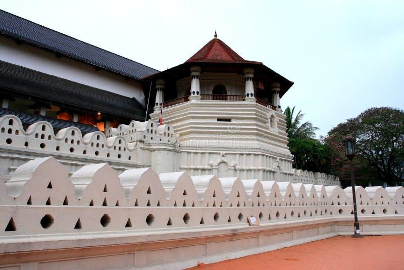 Templo da relíquia do dente fotos de stock