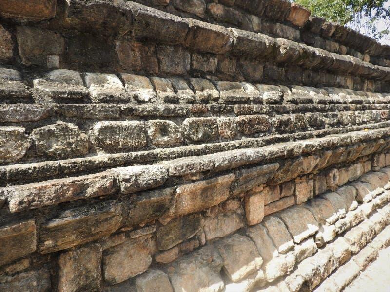 Templo da relíquia sagrado Sri Dalada Maligawa do dente em Kandy, Sri Lanka Templo budista das relíquias dos detalhes situado n imagem de stock