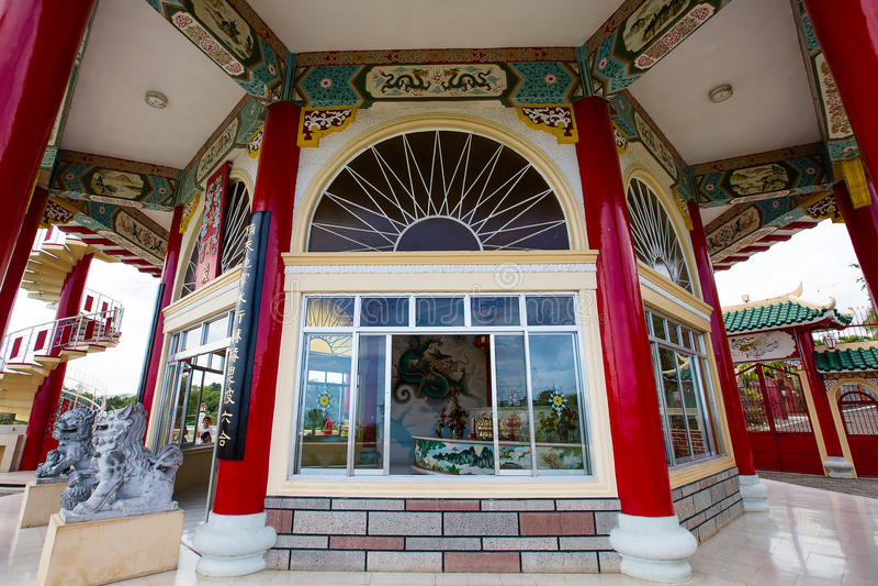 Templo da taoista, Filipinas imagens de stock royalty free