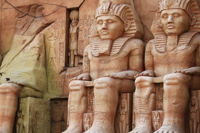Templo de Abu Simbel foto de stock royalty free
