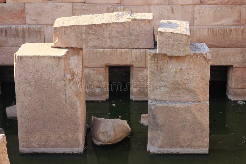 Templo de Abydos imagem de stock