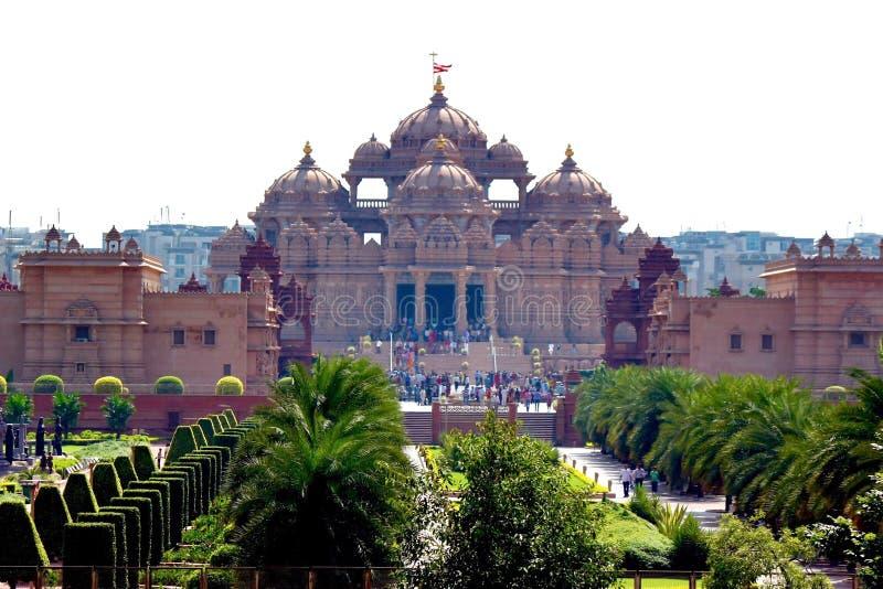 Templo de Akshardham fotos de stock royalty free