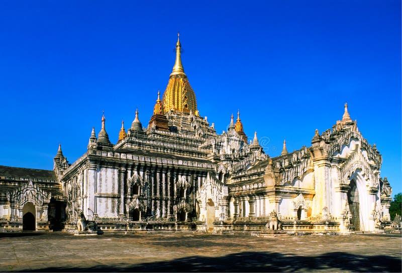 Templo de Ananda, Bagan, Myanmar. fotografía de archivo