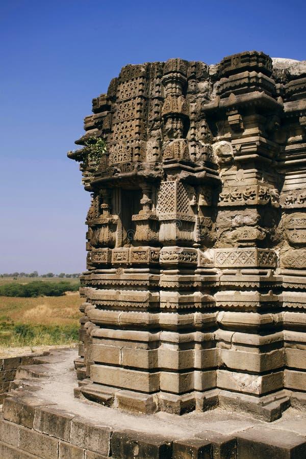 Templo de Anandeshwar, Lasur, Daryapur Taluka, distrito de Amravati, maharashtra, la India foto de archivo libre de regalías