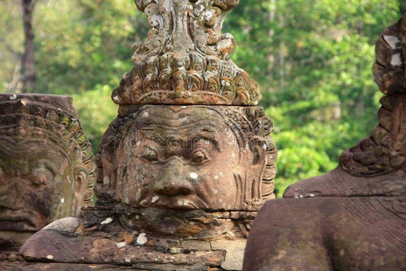 Templo de Angkor Thom fotos de stock