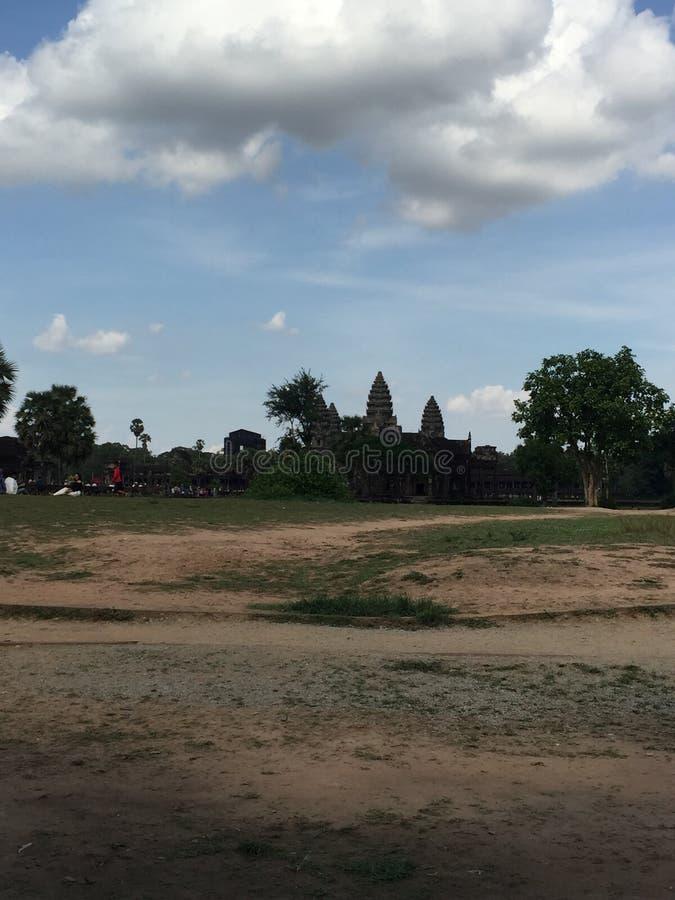 Templo de Angkor Wat foto de stock royalty free