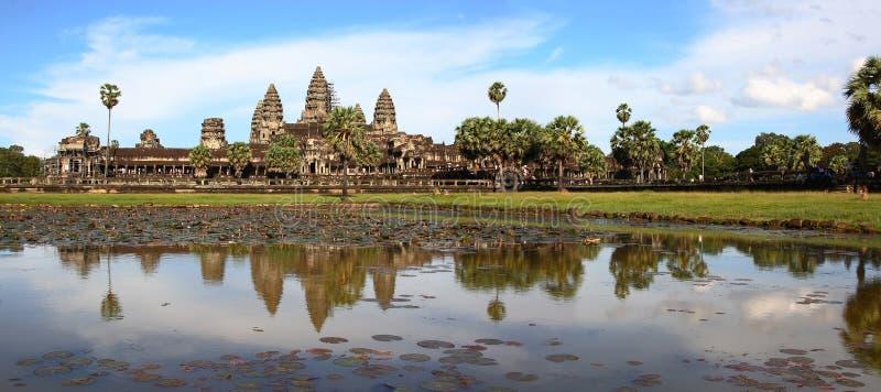 Templo de Angkor Wat foto de archivo libre de regalías
