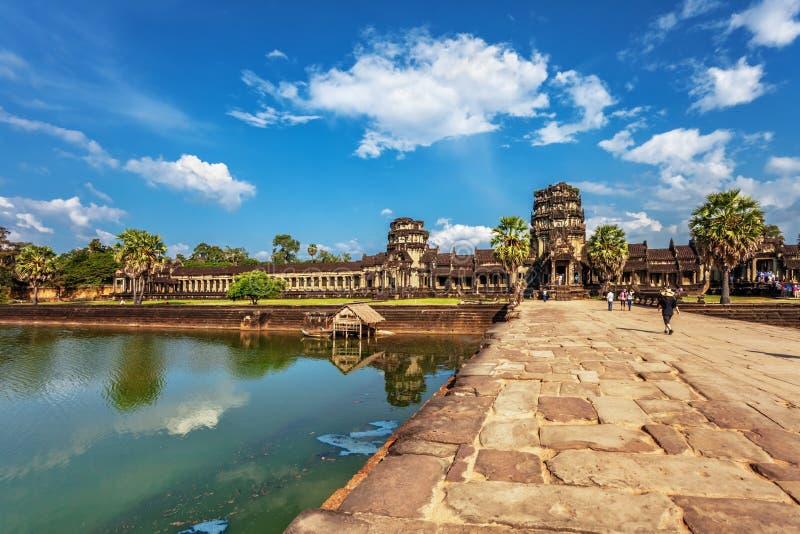 Templo de Angkor Wat imagen de archivo libre de regalías