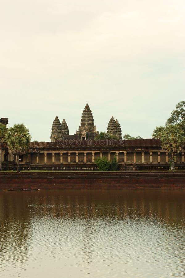 Templo de Angkor Wat fotos de stock