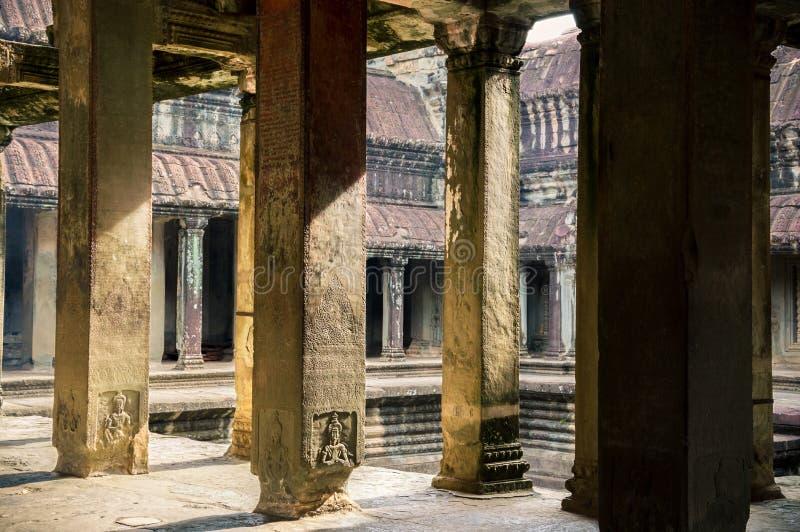 Templo de Angkor Wat, Camboja imagens de stock