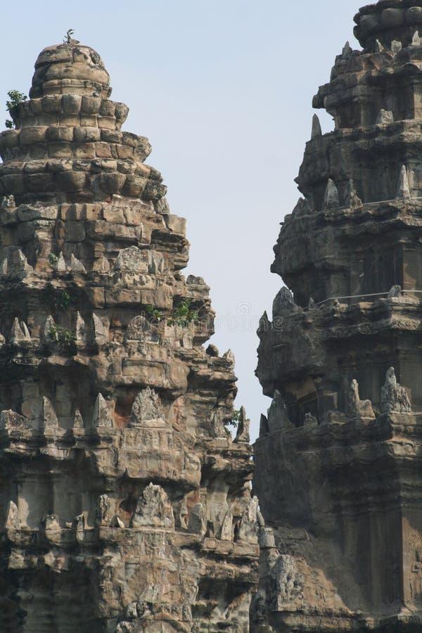 Templo de Angkor Wat escénico imagen de archivo