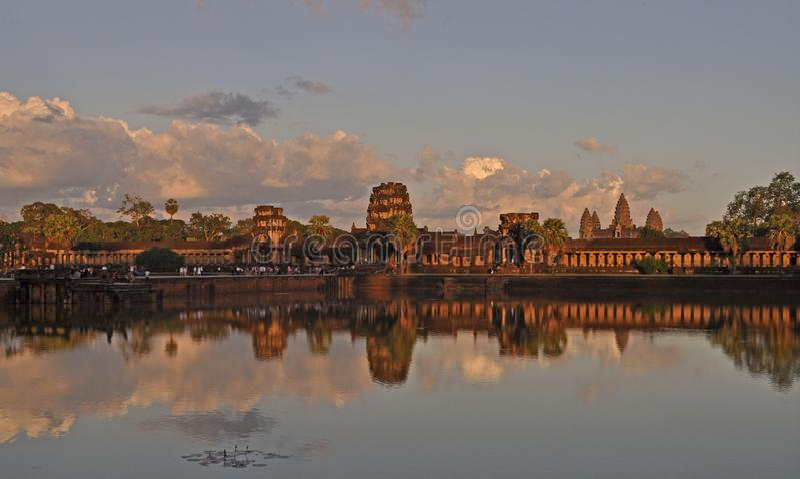 Templo de Angkor Wat imagem de stock