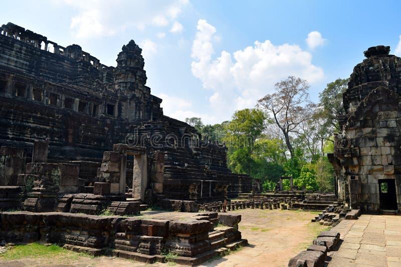 Templo de Angkor Wat, Siem Reap, Cambodia foto de stock royalty free