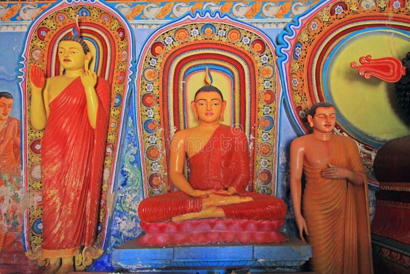 Templo de Anuradhapura Isurumuniya, patrimonio mundial de la UNESCO de Sri Lanka fotografía de archivo
