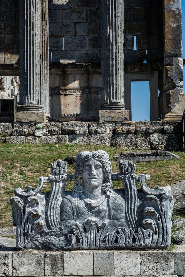 Templo de Apollo Didyma fotos de archivo libres de regalías