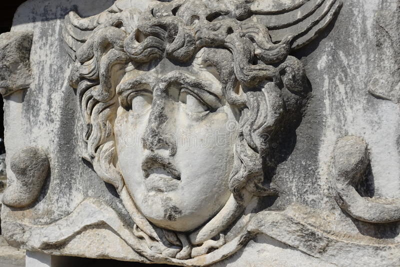 Templo de Apollon - de Didyma/de Turquía imagen de archivo libre de regalías