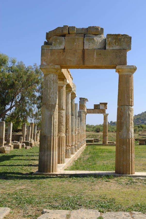 Templo de Artemis fotografía de archivo
