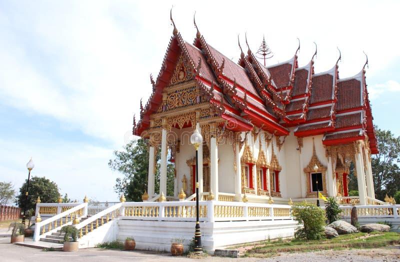 Templo de artes tailandesas foto de stock royalty free