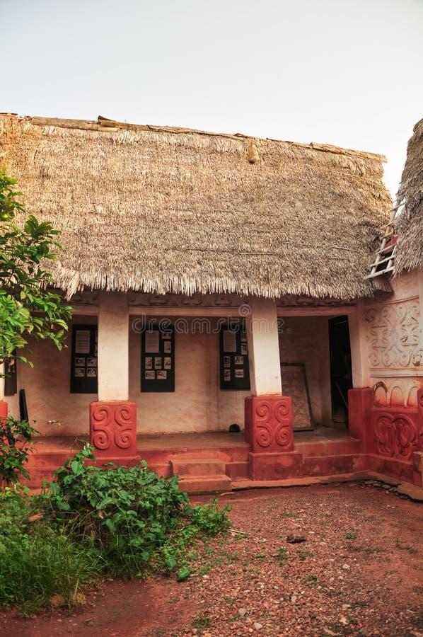 Templo de Asante Besease imagen de archivo libre de regalías