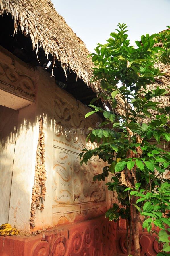 Templo de Asante Besease imagenes de archivo