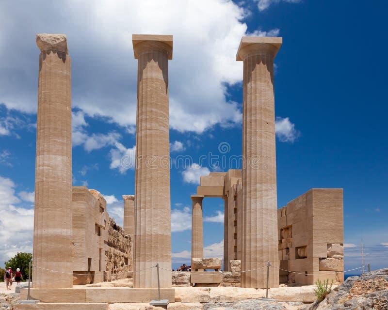 Templo de Athena foto de stock