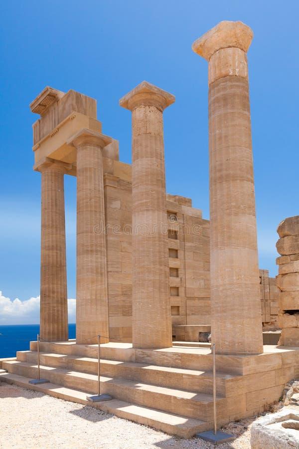 Templo de Athena fotos de stock royalty free