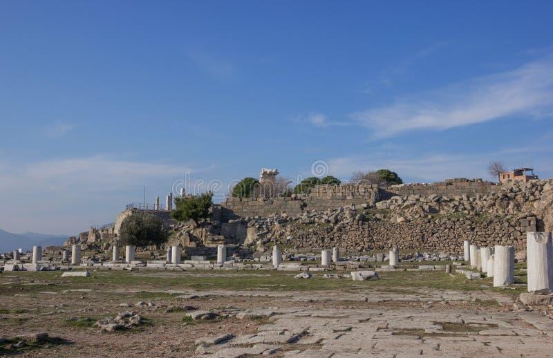 Templo de Athena fotografia de stock royalty free