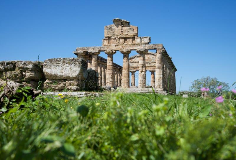 Templo de Athena foto de archivo