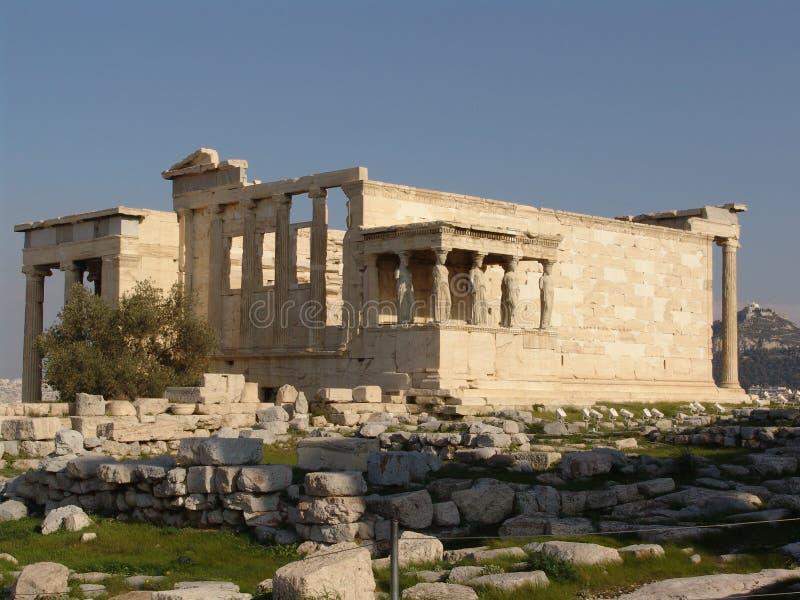 Templo de Athena Nike 2 fotografia de stock royalty free