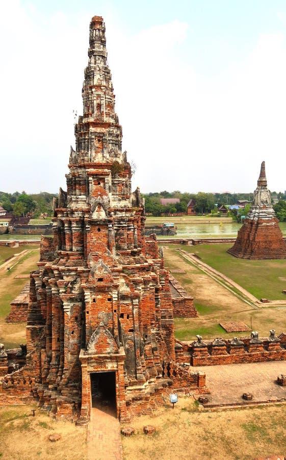 Templo de Atutthaya imagem de stock royalty free