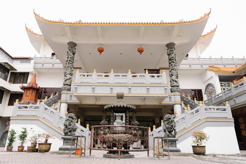 Templo de Avalokitesvara, Pematang Siantar imagens de stock royalty free