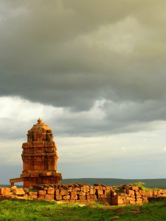 Templo de Badami imágenes de archivo libres de regalías