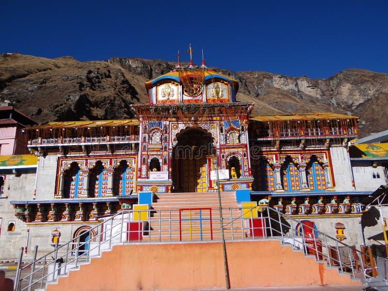 Templo de Badrinath fotografia de stock royalty free