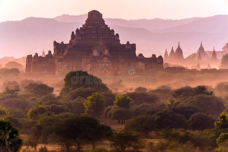 Templo de Bagan fotos de stock royalty free