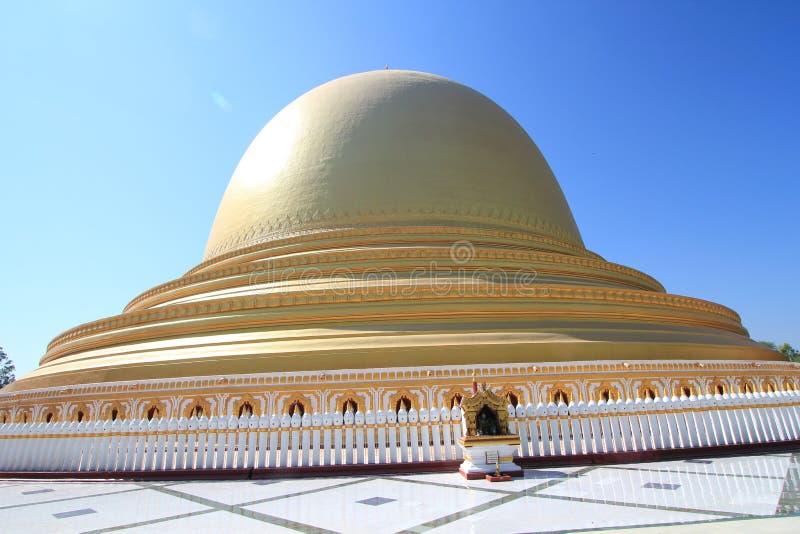 Templo de Bagan em Myanmar imagem de stock