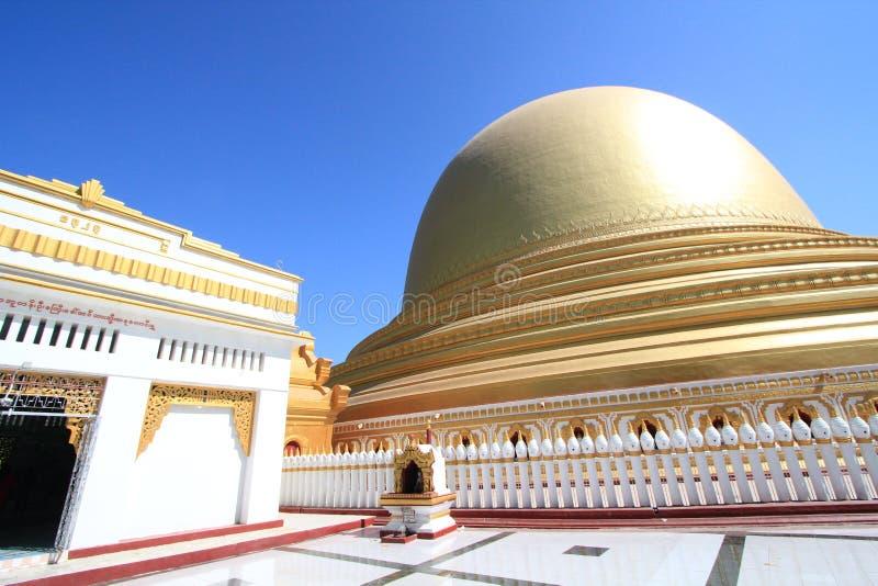 Templo de Bagan em Myanmar fotografia de stock royalty free