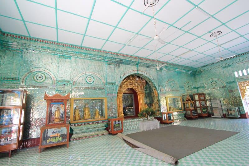 Templo de Bagan em Myanmar imagens de stock royalty free