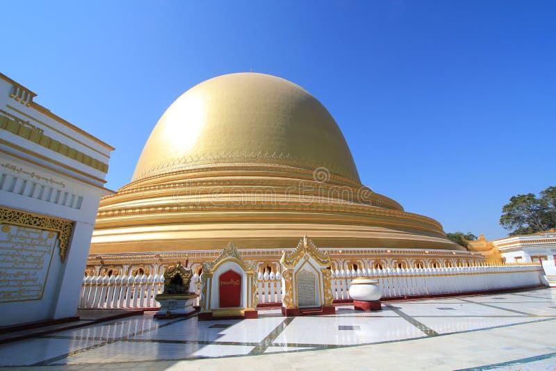 Templo de Bagan em Myanmar imagem de stock royalty free