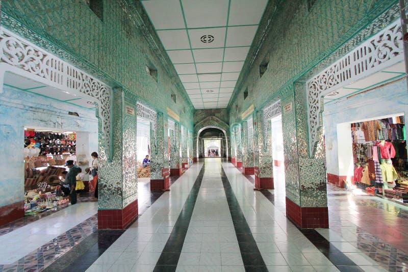 Templo de Bagan em Myanmar foto de stock royalty free