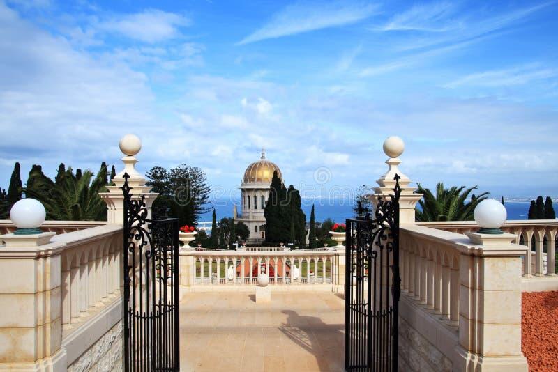 Templo de Baha'i imagem de stock royalty free