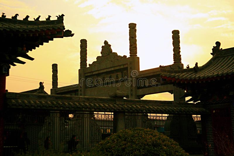Templo de Baima en Luoyang foto de archivo
