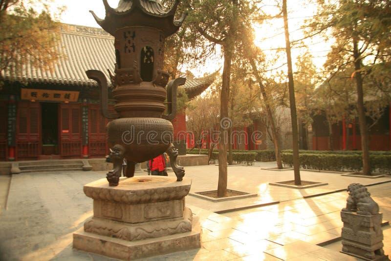 Templo de Baima en Luoyang imagenes de archivo