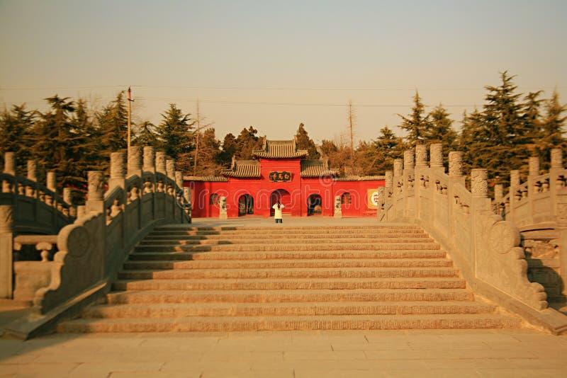 Templo de Baima en Luoyang foto de archivo libre de regalías