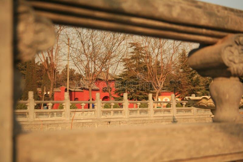 Templo de Baima en Luoyang fotos de archivo