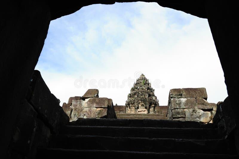 Templo de Bakong em Cambodia imagens de stock