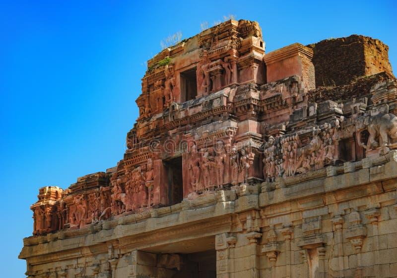 Templo de Bala Krishna en Hampi, Karnataka, la India imagen de archivo