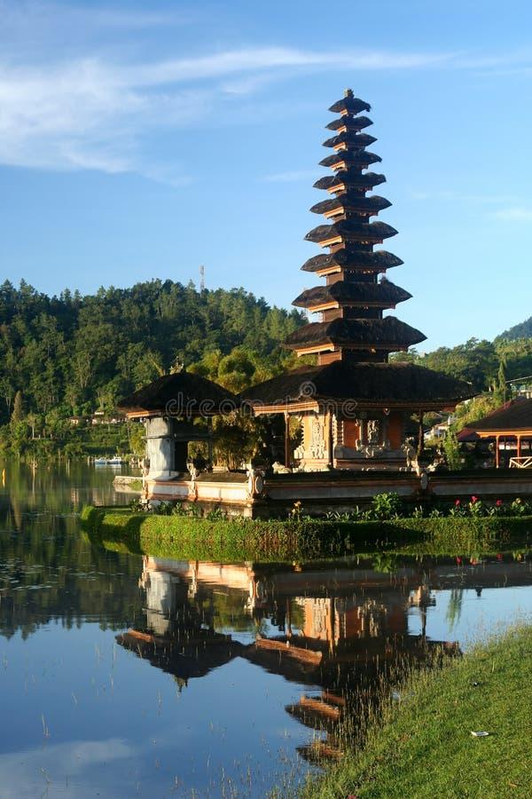 Templo de Bali imagens de stock